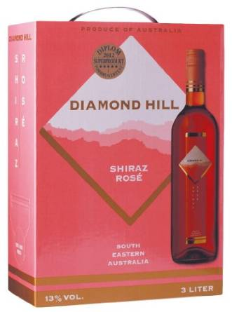 "Diamond Hill Shiraz Rosé 13,5% ""Bag in Box"" 3L"
