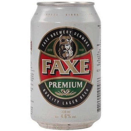 Faxe Premium Beer 4.6% 24 x 330ml
