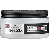 2x Schwarzkopf Got2B Styling Paste Man-O-Man 100ml