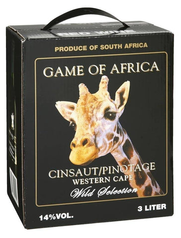 "Game of Africa Cinsault Pinotage 14%   ""Bag in Box"" 3L"