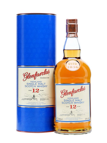 Glenfarclas 12 Year Old Whisky  43% 1L