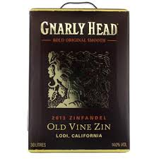 "Gnarly Head Zinfandel 14%   ""Bag in Box"" 3L"