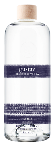 Gustav Blueberry Vodka 40%  0.7L