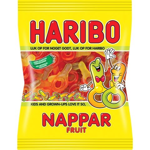 Haribo Nappar Fruit Winegums 1kg