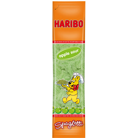 Shop 3x Haribo Wine Gums Spaghetti Apple Sour 200g at great prices on discandooo.com