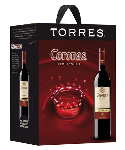 "Torres Coronas Tempranillo 14%   ""Bag in Box"" 3L"