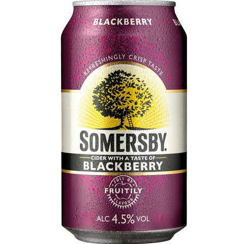 Somersby Blackberry Cider 4.5% 24 x 330ml