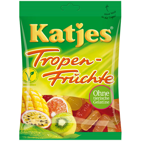 Shop 3x Katjes Wine Gums Tropical Fruits 200g at great prices on discandooo.com