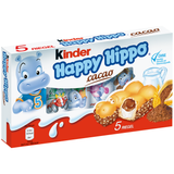 Shop 2x Ferrero Happy Hippo Choco-Cacao Bar 5 Piece(s) at great prices on discandooo.com