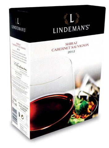 "Lindeman´s Shiraz Cabernet Sauvignon 13%   ""Bag in Box"" 3L"
