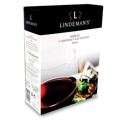 "Shop Lindeman´s Shiraz Cabernet Sauvignon Red Wine Dry 13% ""Bag In Box"" 3L at great prices on discandooo.com"