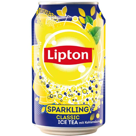 Lipton Sparkling Iced Tea 24 x 330ml