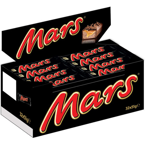 Shop Mars Chocolate Bars 32 x 50g at great prices on discandooo.com