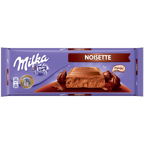 Shop Milka Chocolate Noisette 300g at great prices on discandooo.com