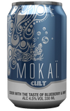 Mokai Blueberry Cider 4.5% 18 x 330ml