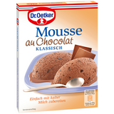 Shop 3x Dr. Oetker Mousse Au Chocolat Classic 92g at great prices on discandooo.com