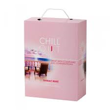 "Chill Out Delicate & Fruity Shiraz Rose 12%   ""Bag in Box"" 3L"