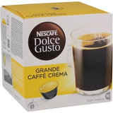 Shop Nescafé Dolce Gusto Grande Cafe Crema Coffee Capsules 16 Piece(s) at great prices on discandooo.com