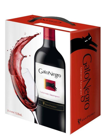 "Gato Negro Cabernet Sauvignon 13,5%   ""Bag in Box"" 3L"