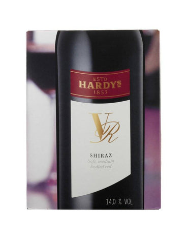 "Hardy's VR Shiraz 13,5%   ""Bag in Box"" 3L"