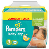 Shop Pampers Baby Dry Diapers Maxi Size 4 (7-18Kg) Jumbo Pack 78 Piece(s) at great prices on discandooo.com
