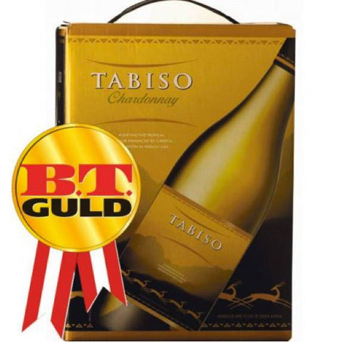 "Tabiso Chardonnay 13%   ""Bag in Box"" 3L"