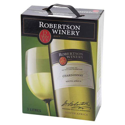 "Robertson Winery Chardonnay 13,5%   ""Bag in Box"" 3L"
