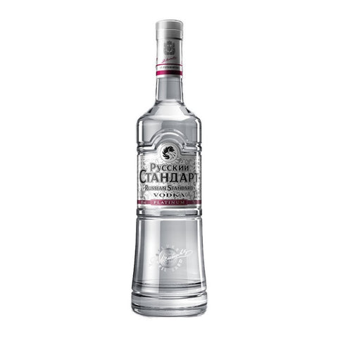 Russian Standard Platinum Vodka 40% 1L