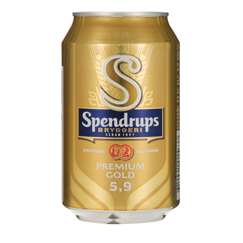 Shop Spendrups Premium Gold Beer 5.9% 24 x 330ml at great prices on discandooo.com