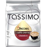 Shop Jacobs Tassimo Caffe Crema Classico Coffee Capsules 16 Piece(s) at great prices on discandooo.com