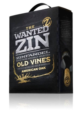"The Wanted Zin Old Vines Pugilia IGT 14,5%   ""Bag in Box"" 3L"