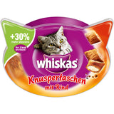 Whiskas Crispy Cat Food Beef 60g