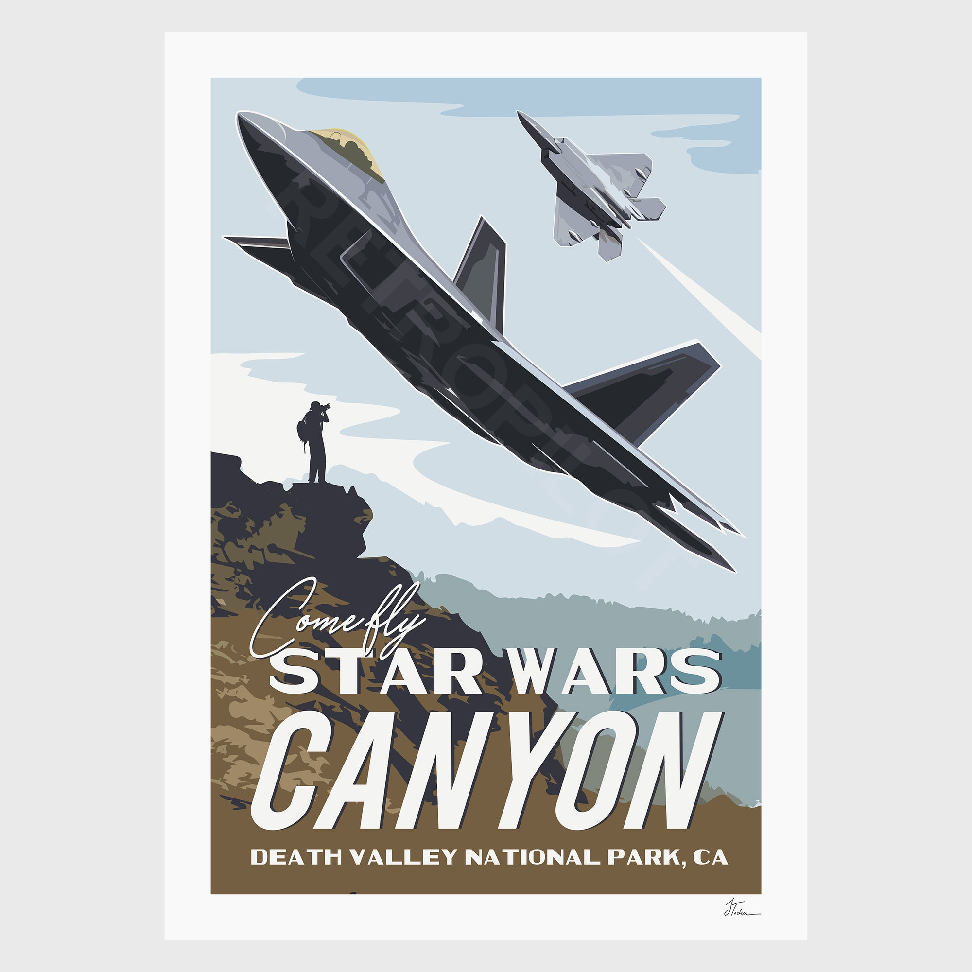 F-22 - Star Wars Canyon
