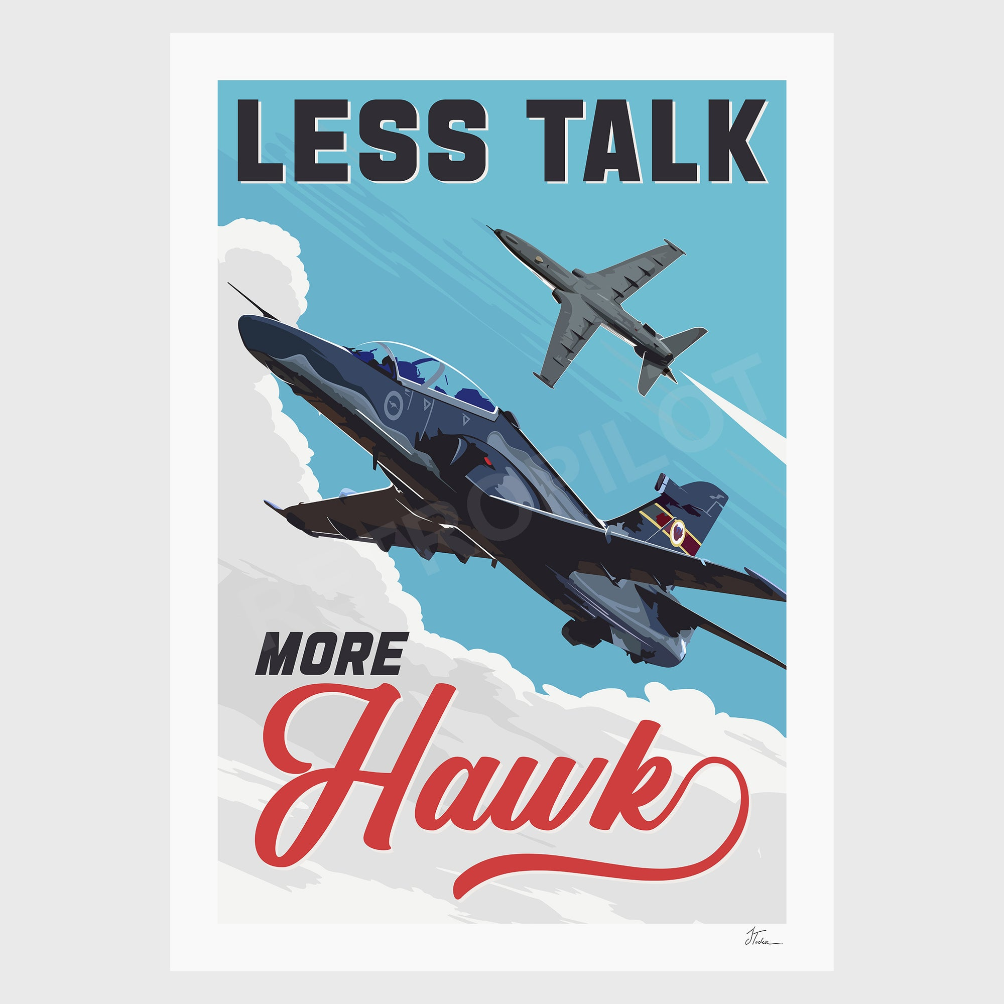 Hawk-127 - Less Talk More Hawk