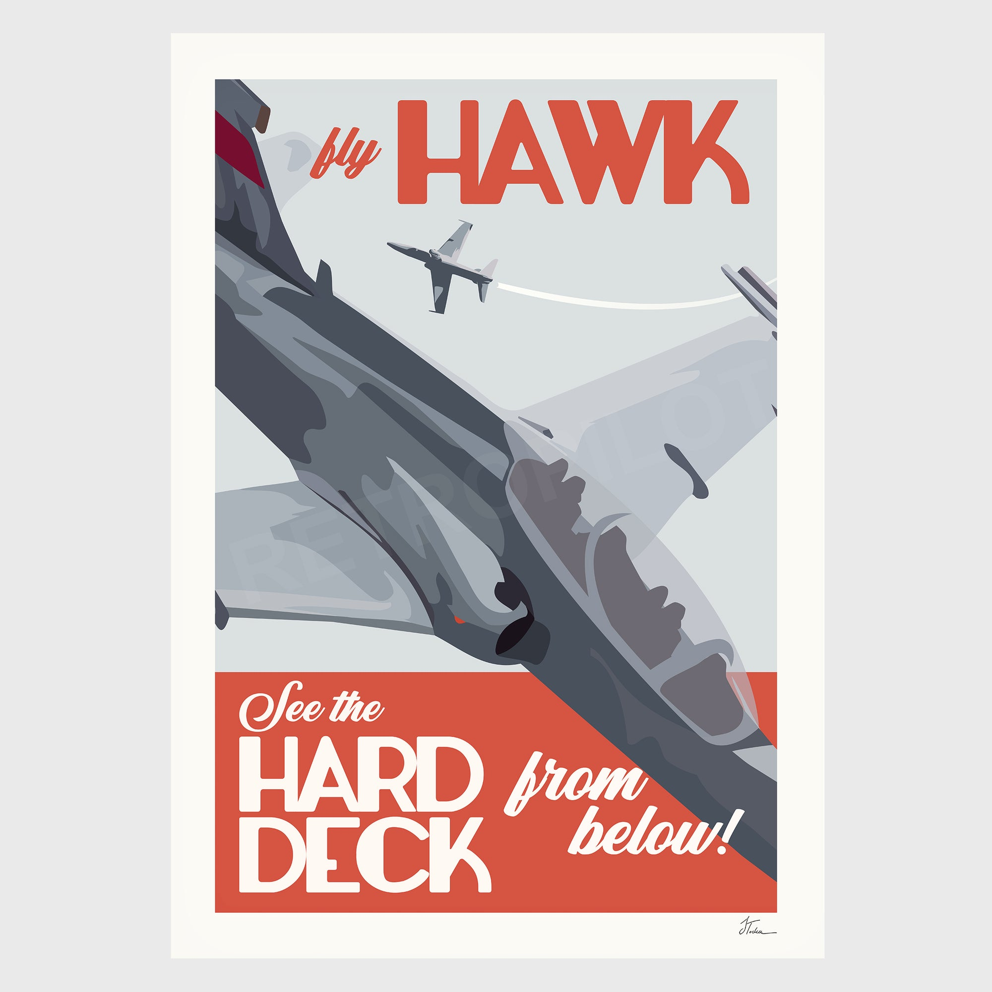 Hawk-127 - Hard Deck