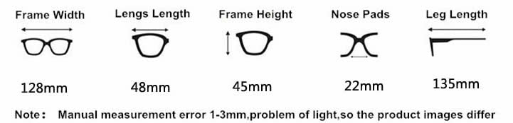 Mirror Sunglasses Specifications