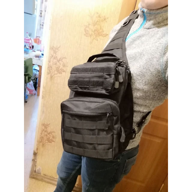 Tactical Crossbody Backpack