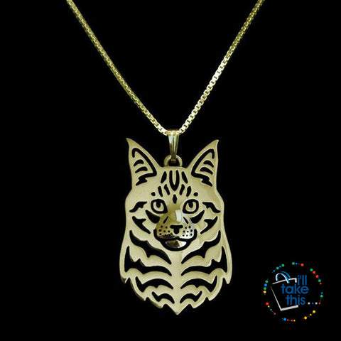 Image of Maine Coon Cat Pendant with Free Chain - I'LL TAKE THIS