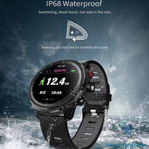 ⌚ Super Sports Carbonfibre Smartwatches, Multi-Sports Mode - Bluetooth, 3 Color options
