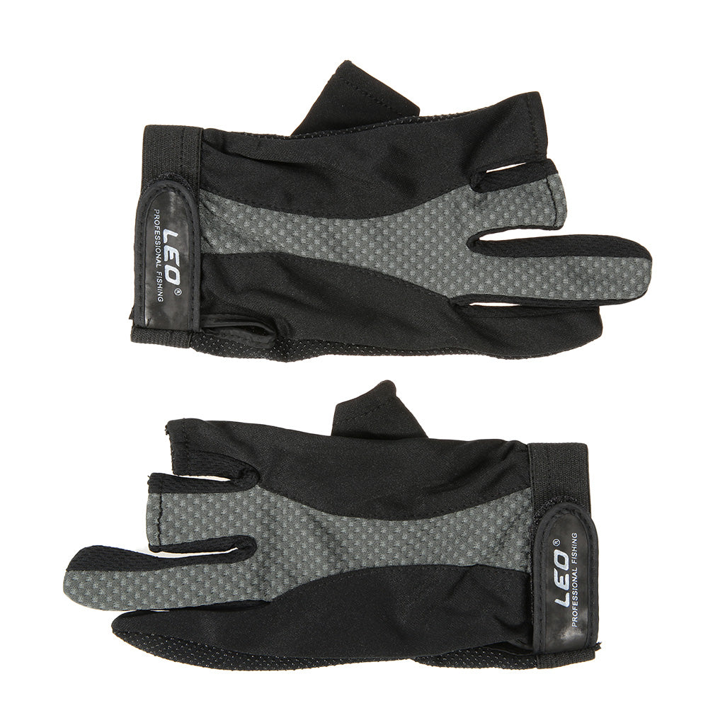 1 Pair 3 Fingerless Gloves Anti-slip Breathable Lightweight Fishing Gloves Outdoor Sports Cycling Camping Running - I'LL TAKE THIS