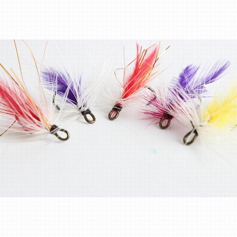 Fly fishing set of 12 Lures / Hooks, imitation Butterfly + more - I'LL TAKE THIS