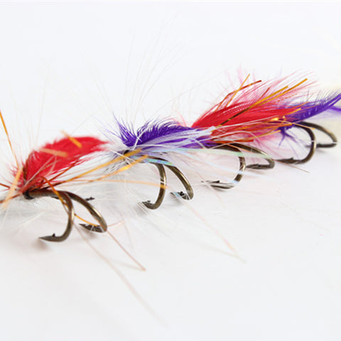Image of Fly fishing set of 12 Lures / Hooks, imitation Butterfly + more - I'LL TAKE THIS