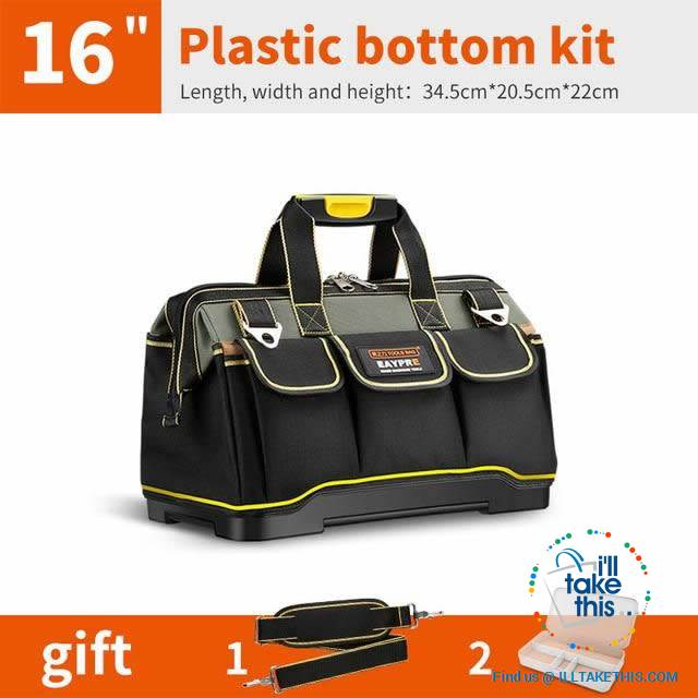 "Ultra Wide Mouth TRADE tough tool bags - 13 to 20"" Sizes' - I'LL TAKE THIS"