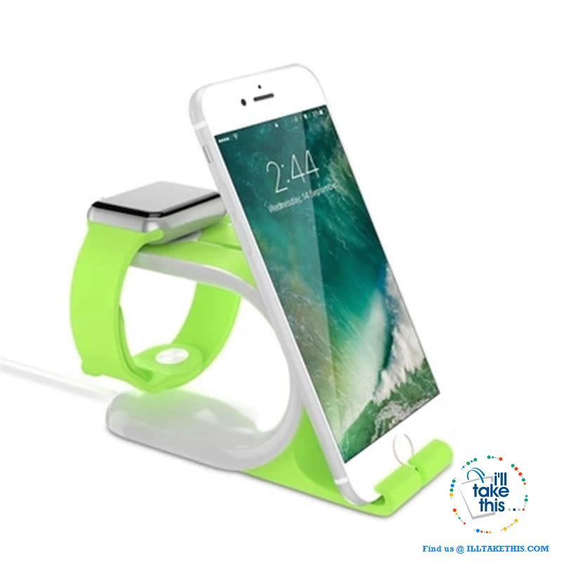 2-in-1- Multi Charging Dock/Stand for iWatch & iPhone Docking Station - I'LL TAKE THIS
