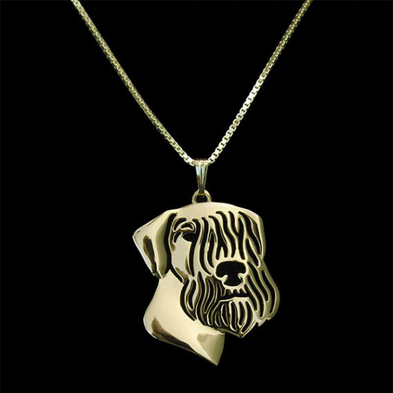 Cesky Terrier Pendant in Gold, Silver or Rose Gold with FREE Link chain - I'LL TAKE THIS