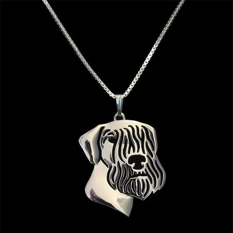 Image of Cesky Terrier Pendant in Gold, Silver or Rose Gold with FREE Link chain - I'LL TAKE THIS