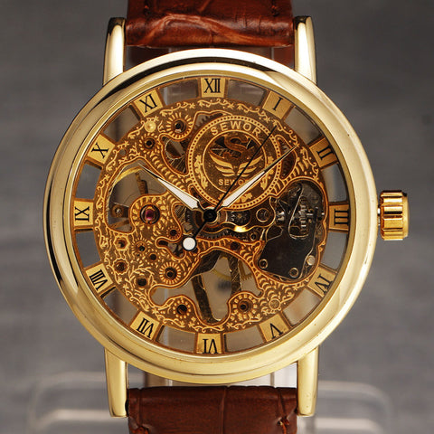 Image of Men's Skeleton Vintage Dress Watches  - Hand Wind - I'LL TAKE THIS