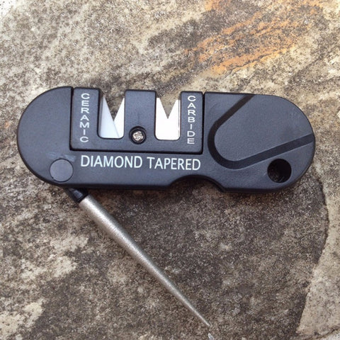 Image of Three Stages Pocket size Ceramic Carbide Diamond Sharpener - I'LL TAKE THIS