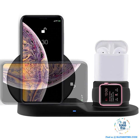 Image of 3-in-1 Apple Wireless Charger - Super Fast & Convenient 💥 - I'LL TAKE THIS
