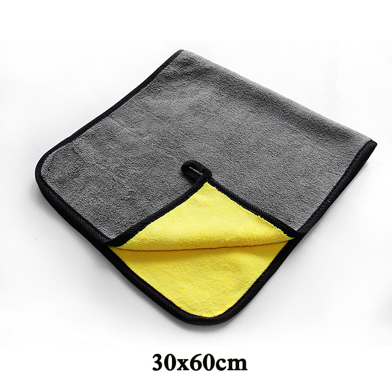 Microfiber Towel Car Cleaning - Two sizing options either 30cm/12' or 30cm/12'x60/24 - I'LL TAKE THIS